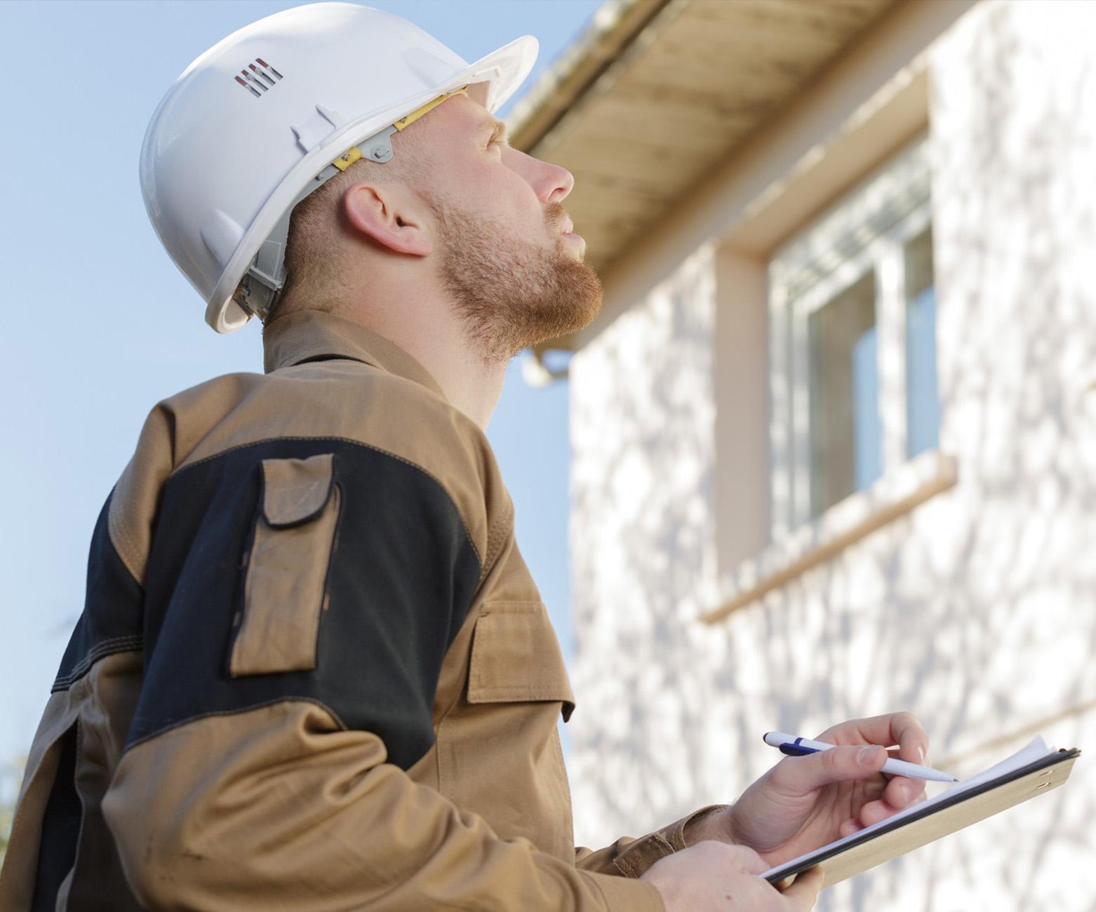 Image of a property surveyor.