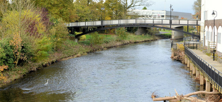 Large Supermarket fined £7,500 for Polluting River